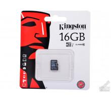 16Gb micro SD Kingston class10 без адаптера