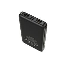 Внешний аккумулятор 10000 BOROFON BT27 черный