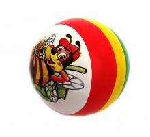 Мяч с рисунком микс д/150мм резиновый