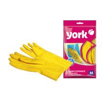 перчатки YORK рез. суперплотные раз М 092020