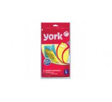 перчатки YORK рез. суперплотные раз L 604132