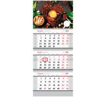 Календарь кварт 2021 СПЕЙС с ригелем 303557