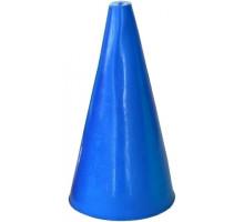 Конус для разметки полей и трасс, 20 см, цвет сини