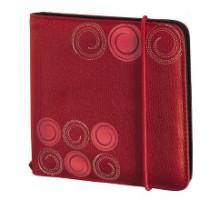 Портмоне для CD HAMA Bahia 64 шт, красный